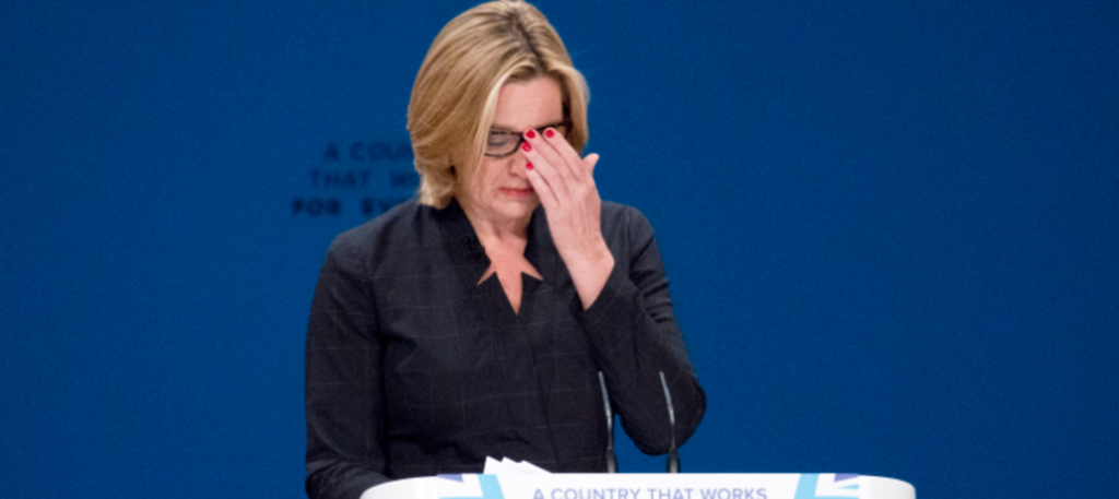 Amber Rudd finally resigns as Home Secretary after